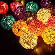 rattan ball fairy lights rattan ball fairy string lights my bright source