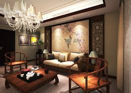 Chinese Living Room The Classical Chinese Interior Design Living Room Sofa Wall 3d House