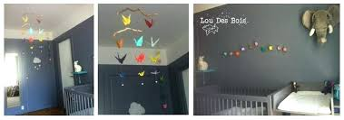guirlande lumineuse chambre bebe guirlande lumineuse chambre bebe lou des bois origami une