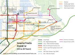 Toronto Subway Map by Maps Www Torontotransitblog Com