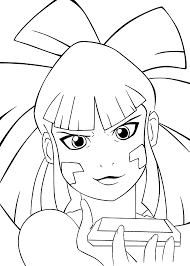redakai anime coloring pages for kids printable free coloring
