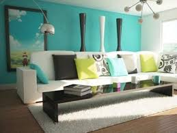 modern home interior colors turquoise paint color for simple modern home interior 4 home decor