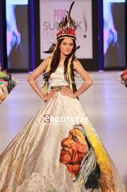 Native American Inspired Clothing Hamza Bokhari For Pfdc Sunsilk Fashion Week 2013 Pakistani