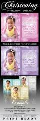baby christening invitation templates by creativb graphicriver