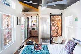 breezy boho dream tiny texas house made from two trailers