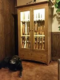 best place to buy gun cabinets woodloft arthur amish custom crafted gun cabinets