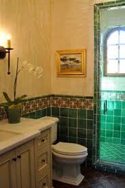Bathroom Using Mexican Tiles By Kristiblackdesignscom Kristi - Spanish bathroom design