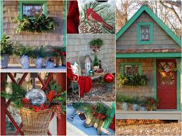 Garden Shed Decor Ideas A Potting Shed Christmas U2013 Home Is Where The Boat Is