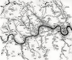 Map Of Rivers Rivers Of London Amazing Hand Drawn Map By Stephen Walter Londonist