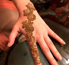easy mehndi designs 2018 for beginners to color their