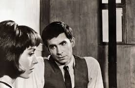 le martinelli elsa martinelli and anthony perkins in le procès 1962 flickr