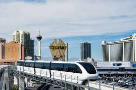 Monorail Las Vegas Map by Las Vegas Monorail Offers Economical Strip Transit Aboard Zero