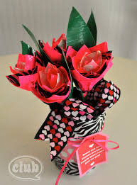 make your own duck tape rose pen bouquet club chica circle