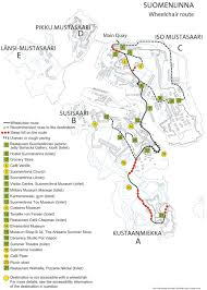 Iso Map Maps Suomenlinna Official Website