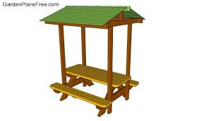 Picnic Table Plans Free Online by Covered Picnic Table Plans Suncast Large Vertical Storage Shed