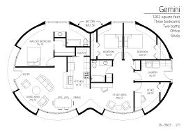 floor plan dl 3603 monolithic dome institute