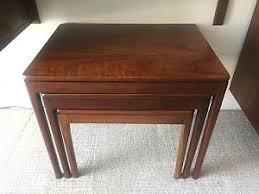 drexel coffee table mid century modern drexel declaration nesting tables ebay