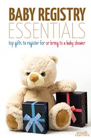 register for baby shower baby registry essentials and gifts ideas and crafters