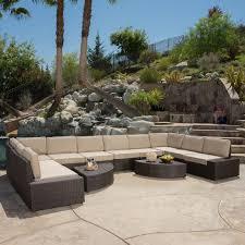 best selling home decor santa cruz wicker 12 patio conversation