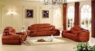 Big Leather Sofa Sofa Extraordinary Brown Sofa Set Set Of Brown Leather Sofa