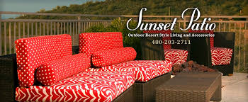 sunset patio trade services scottsdale patio furniture resort