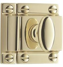 cabinet latch restoration hardware utility latches in antique brass from restoration hardware