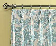 Making Pleated Drapes Single Pinch Pleat Drape Projects Pinterest Curtain Headings