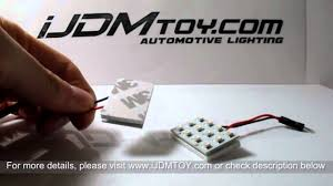 lexus ct200h hacks ijdmtoy 12 smd led pcb panel lights on 2011 lexus ct200h youtube