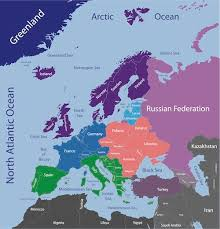 map of europe scandinavia geography where is map lies in