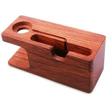 amazon com apple watch stand aerb rosewood charging stand