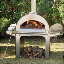 backyards winsome wood fired brick pizza oven and argentinian
