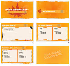 Free Thanksgiving Powerpoint Backgrounds Free Thanksgiving Themed Powerpoint Template The Powerpoint