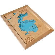3d Maps 3d Lake Maps Wood Ya Shop