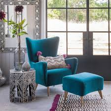 Reading Chairs For Sale Design Ideas Furniture Modern Blue Wingchair Stool Vintage Turquoise Upholstery