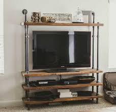 Tv Tables For Flat Screens Wall Units Extraordinary Wrought Iron Entertainment Center Metal