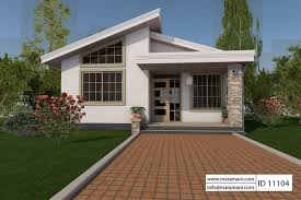 One Bedroom House Plans With Photos by Bedroom House Design Id 11104 Floor Plans By Maramani