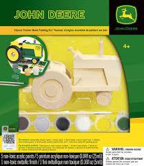 john deere classic tractor wood painting kit 008021 details