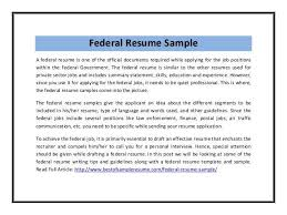 Federal Resume Writer 100 Federal Resume Writing Federal Resume Sample For Education