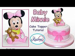baby minnie mouse 1st birthday birthday cakes awesome minnie mouse 1st birthday cake topper