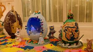 easter egg display disney s grand floridian resort edible easter egg display will