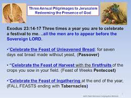 seven feasts of the messiah 1 1 relevance and traditions of the feasts to israel 2 relevance