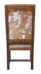 Cowhide Dining Room Chairs by Barley Twist Cowhide Dining Chair John Proffitt