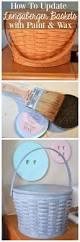 best 25 painted baskets ideas on pinterest diy kilim grey
