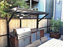 backyard patio fireplace and gas grill buffet lincoln park
