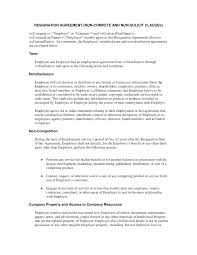 10 Vendor Agreement Templates Free Resignation Agreement Non Compete