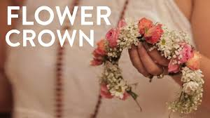 crowning floral spray how to make a flower crown