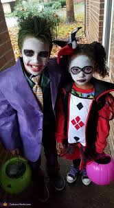 Joker Halloween Costume Kids Joker Harley Quinn Kids Costume