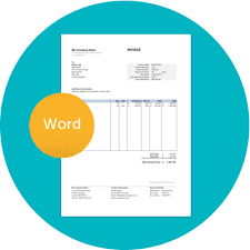 free uk invoice template in word for sole traders