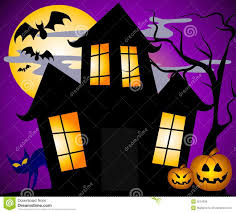 spooky house halloween clip art u2013 festival collections