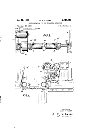 patent us2944345 drive mechanism for web threading apparatus